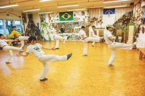 capoeira angola training