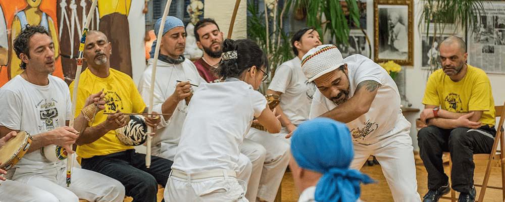 Roda - Das Capoeira Spiel