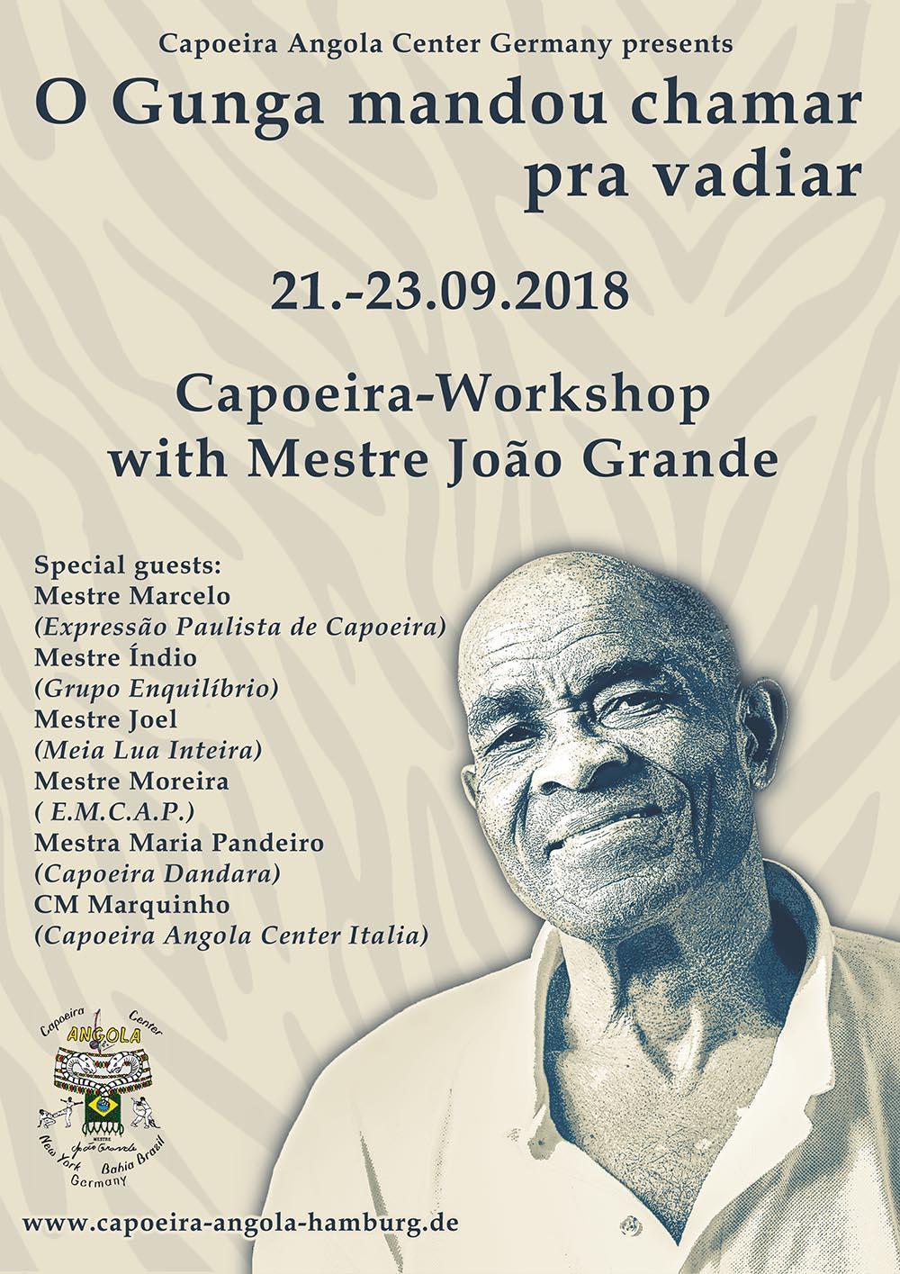 Workshop mit Mestre Joāo Grande